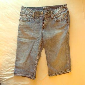"Silver Jeans ""Suki Bermuda"" shorts 29"